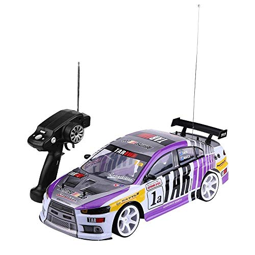 OUUED Offroad speelgoed Radio op afstand bestuurbare auto RC voertuig 280 Motor RC Drift Car 1:10 Scale - 4 FREE Rubber Banden for Grip door Action Force Ltd toys for boys meisjes gaven de Verjaardag