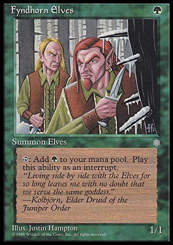 Magic The Gathering - Fyndhorn Elves - Ice Age