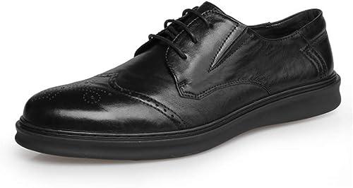 YCGCM Hommes Chaussures Dentelle Classique Britannique Britannique Affaires Décontracté Faible-Top Chaussures Confortable  distribution globale