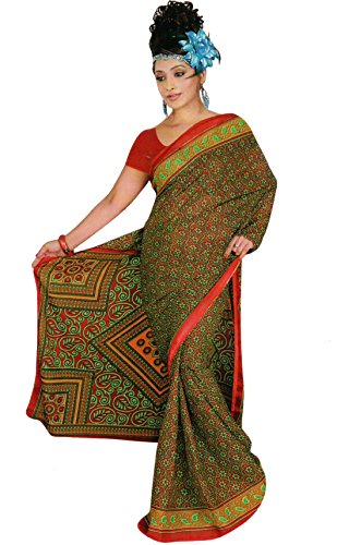 Trendofindia Trendofindia Bollywood Sari Kleid Chiffon Fo361