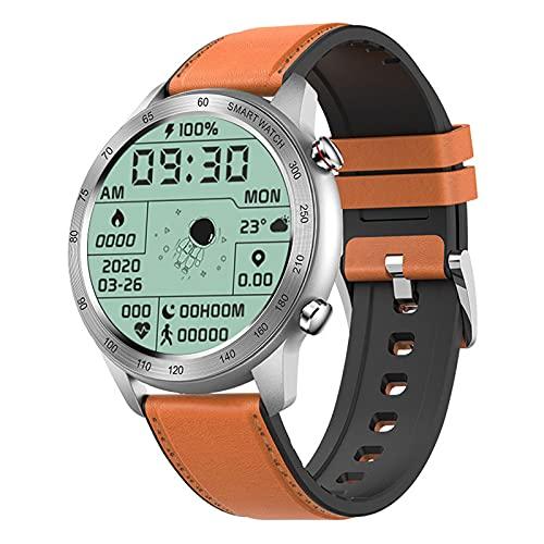 ZGNB MX5 Smart Watch, Chiamata Bluetooth, Riproduzione Musicale MTE, IP68 Impermeabile, Monitor per La Pressione Sanguigna, Fai da Te Smartwatch PK TK88 per Android iOS,N
