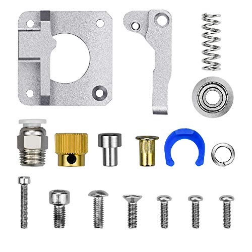 Demason 3D Printer Creality Upgrade Aluminum Parts MK8 Extruder Alloy Block Bowden Extruder 1.75mm Filament for Ender3/Pro, Ender5/Plus, CR-10S Pro, CR-10 V2