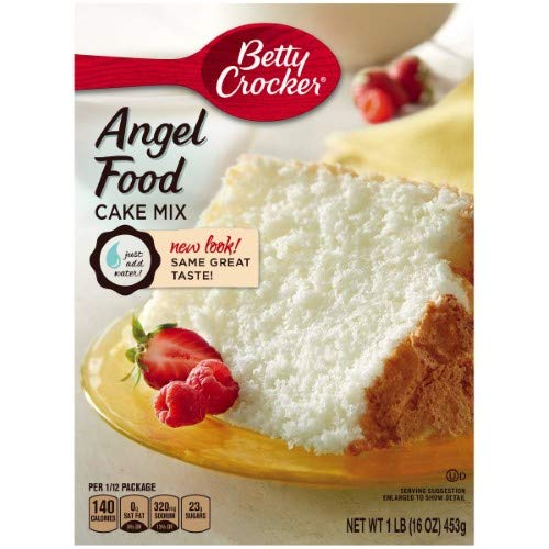 Betty Crocker Angel Food White Cake Mix (Pack of 6)