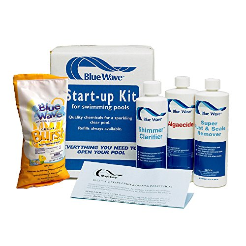 Blue Wave NY976 Pool Chemical Spring Start-Up Kit, 7500-Gallon