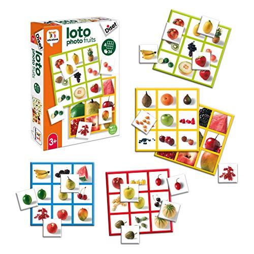 Diset Loto Photo Fruits - Gioco educativo per bambini dai 3 anni