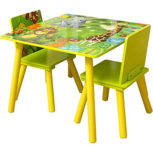 Home Renovation Children's table and chair set Kids Table And Chair Set For Reading Play Room Classroom Toddler Activity Chair Childrens Table Chair Set Indoor or outdoor children's table and chair