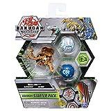 BAKUGAN Armored Alliance Paquete de iniciación S2 – Aurelus Nillious, Criaturas transformadoras coleccionables, para Edades de 6 en adelante