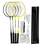Best Carlton badminton racket - Carlton Unisex 4 Player Badminton Set Rackets Review