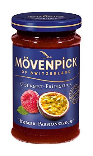 Mövenpick Gourmet-Frühstück Himbeer-Passionsfrucht, Fruchtaufstrich, 250 g