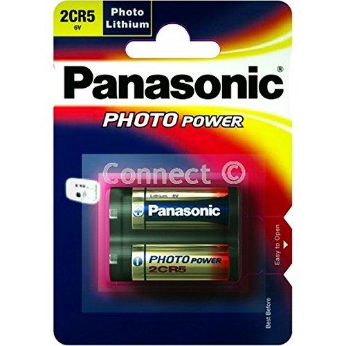 Panasonic 2cr5 2cr5m dl245 6v fotográficas de Litio de la batería de la cámara