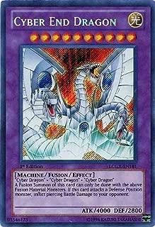 YuGiOh Legendary Collection 2 Single Card Cyber End Dragon LCGX-EN181 Secret Rare
