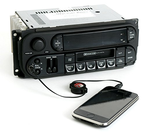 1 Factory Radio AM FM Cassette with CD Controls iPod Aux Input Compatible With 2003-2007 Chrysler Dodge Jeep RBB
