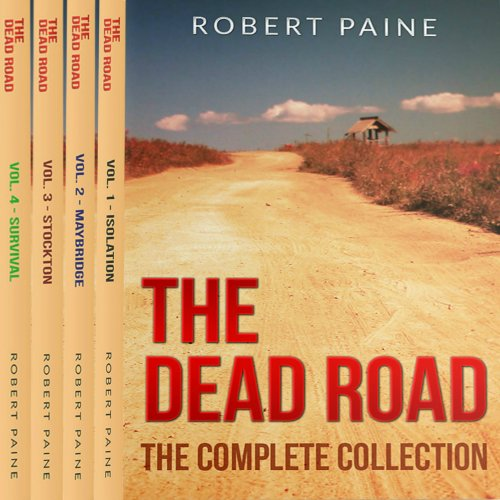 The Dead Road audiobook cover art