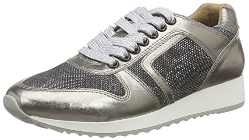 Laufsteg München Damen FS162001g Sneaker, Braun (Bronze Glitter), 40