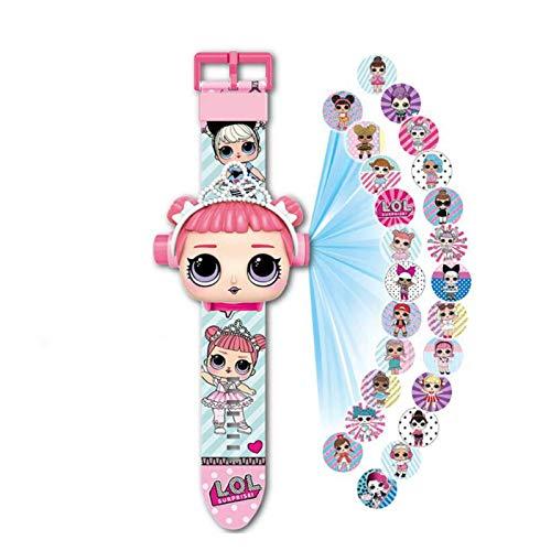 N-B Paw Patrol Toy Watch Cute 3D Projection Cartoon Children\'s Watch Anime Characters Boys Girls Birthday Clock Children\'s Toys