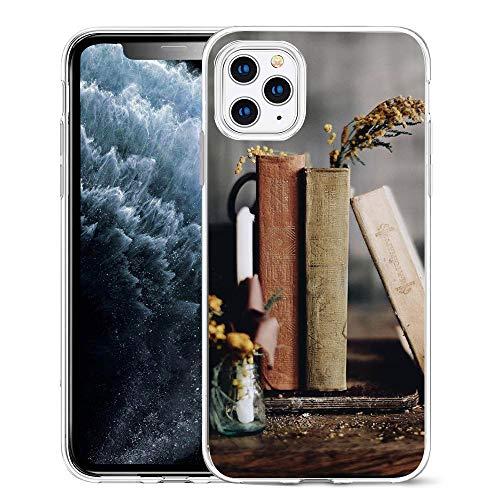 JLTPH Phone Case Cane Gatto Paesaggio Cover iPhone 7 / iPhone 8 Custodia Cover Morbido Silicone Custodie Cover Full Protettivo TPU Anti-Graffio per Apple iPhone 7/8