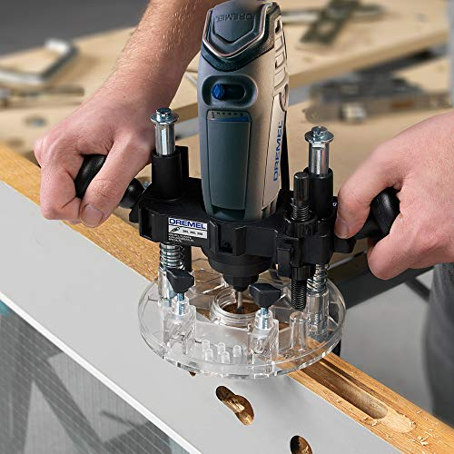 Dremel 335-01 Rotary Tool Plunge Router Attachment – Perfect for Wood