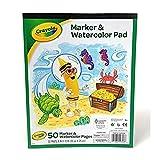Crayola Marker and Watercolor Pad 8 x10...