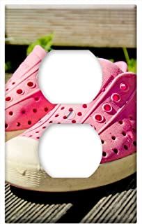 Switch Plate Outlet Cover - Shoes Chuck Crocs Converse All-Stars Crocverse
