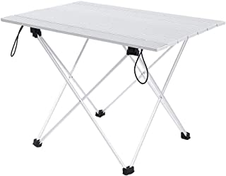 Furniture for Camping Folding Table Desk Aluminum Alloy Sheet Camping Kit For garden, outdoor picnic