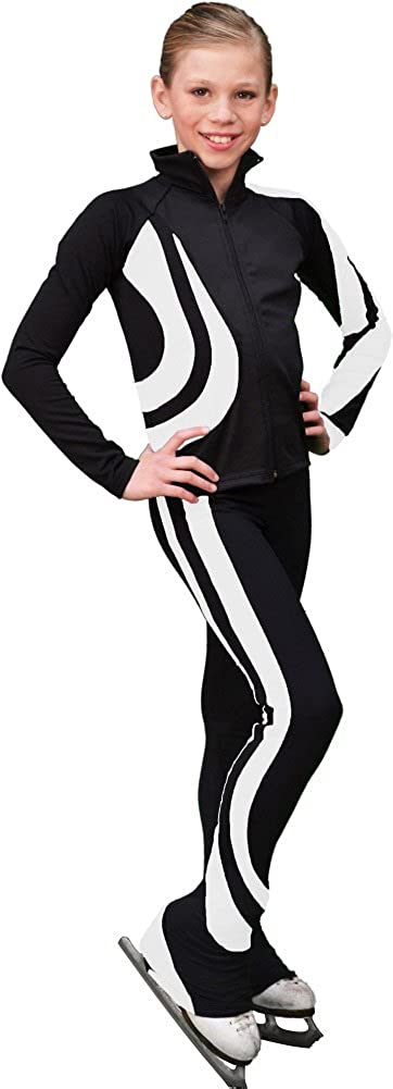 40% OFF Cheap Sale Chloe Noel Figure Skating SEAL limited product Swirls Pants P26