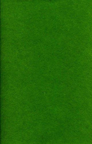 loisirs et travaux manuels Fun 1 mm feutrine acrylique – 5 pcs – 20 cm x 30 cm – Noël Vert # 7416