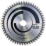 Bosch 2 608 640 511 - Hoja de sierra circular Multi Material - 210 x 30 x 2,4 mm, 54 (pack de 1)
