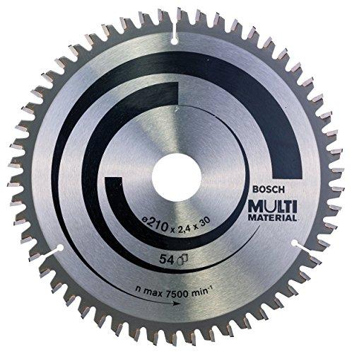 Bosch Professional cirkelzaagblad (voor multimateriaal, buitendiameter: 210 mm boring: 30 mm, accessoires voor cirkelzaag)