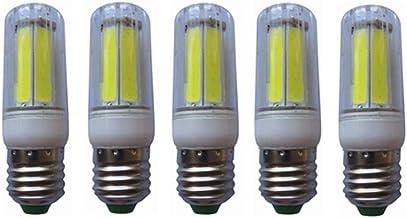 SGJFZD New LED Corn Bulb E27 8W COB Cold/Warm White Light Replace 50W Incandescent Lamp AC200-240V 5-Pack (Color : Warm Wh...
