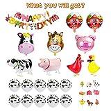 Zoom IMG-2 kateluo palloncini compleanno animali fattoria