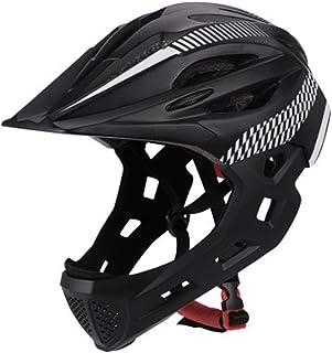 Apex Jeunesse Visage Complet Casque Downhill SALETÉ BMX MTB 54-58 cm Vélo Noir Mat