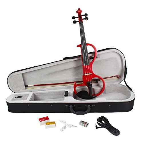 B by Bird ev10RD violín eléctrico, rojo, 4/4