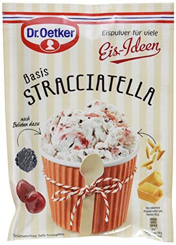 Dr. Oetker Eispulver Stracciatella, 16er Pack (16 x 120 g)