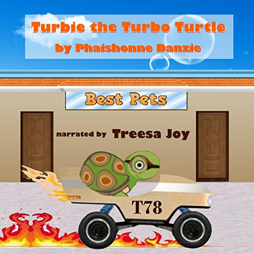 Turbie the Turbo Turtle audiobook cover art