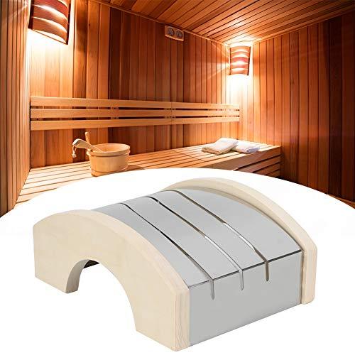 Pantalla de luz de madera fiable, práctica pantalla de lámpara, baño para sala de sauna sala de vapor de casa
