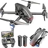 WEIFLY Caméra HD 4K Drone Drones Drones caméras Professionnelles Enfants avec Appareil Photo, GPS Suivez-Moi Come Home Maintient automatiquement Altitude
