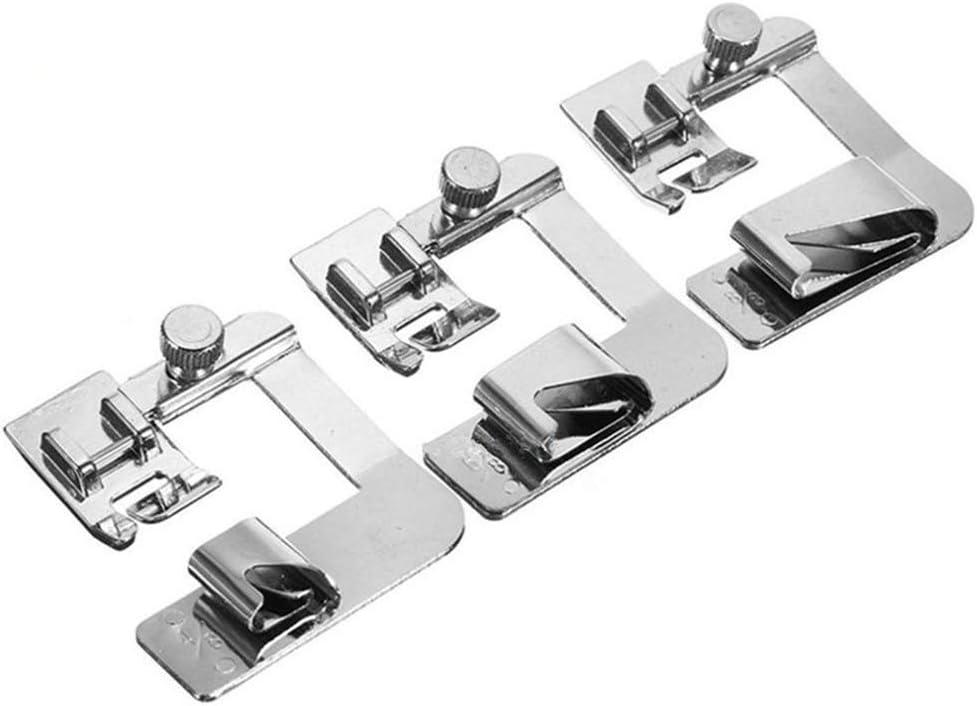 WDXG 3PC Max 82% OFF 13 19 5% OFF 22mm DIY Rol Presser Foot Sewing Domestic Machine