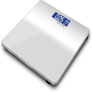 Wghz Báscula de Peso, báscula Digital, 180 kg, báscula de baño, báscula Digital, Monitor LCD de Piso, índice del Cuerpo Humano, balanzas Inteligentes electrónicas fáciles de Leer