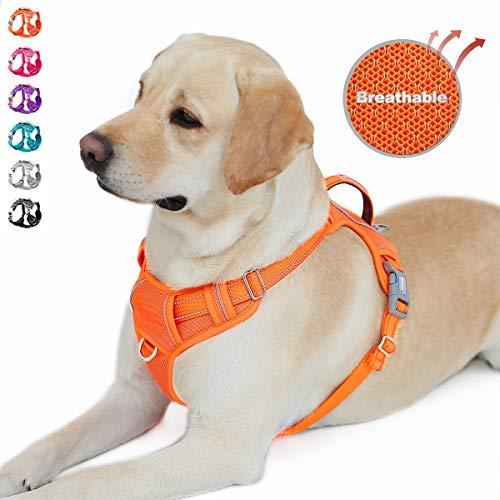 BARKBAY No Pull Dog Harness Front Clip Heavy Duty Reflective Easy Control Handle...