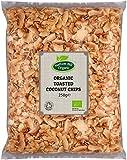 Chips de coco tostados orgánicos 250g de Hatton Hill Organic