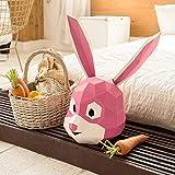 Paper Infinity Cartoon Style Umweltfreundliches Papier Geschenk 3D Tier Kopfmaske schöne...