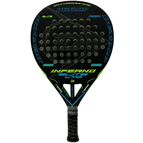 Dunlop Pala de pádel Inferno Elite LTD Yellow - Blue