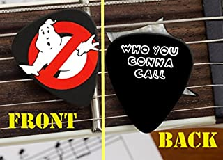 Set of 3 Ghostbusters Who You Gonna Call premium Promo Guitar Pick Pic