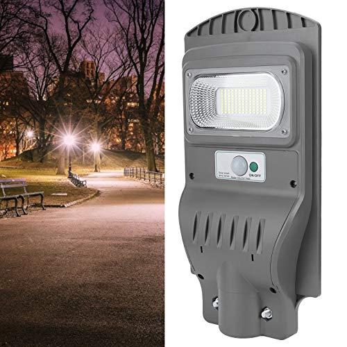 Zhat Luz con Sensor de Movimiento, luz de Calle con Control Remoto, Campus de 60 vatios para Patios, Granjas, Jardines