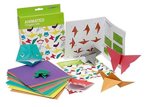 NPW Manualidades de origami con papel para niños - Juego de origami animado ,...