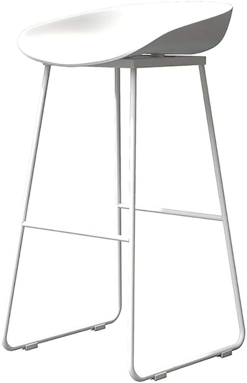 Bar Stool European Simple Wrought Iron bar Chair Modern Coffee Shop high-Rise Desk Stool Home