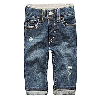 Levi's Baby Boys' Straight Fit Jeans, PCH, 18M from HBBQ9