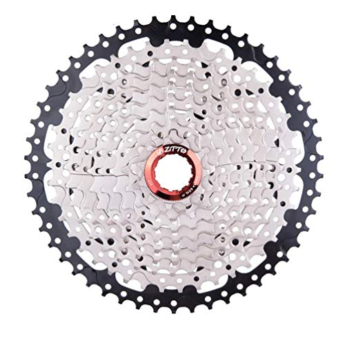 Deniseonuk 10 velocidades 11-50T MTB Mountain Bike 10s 20s 30s Cassette de Rueda Libre para K7 / Piezas XT SLX XO X0 X9 X7 Piezas de Bicicleta