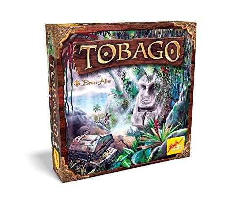 Zoch 601105152 Tobago (Neuauflage) - Spieleklassiker, Familienspiel für Erwachsene und Kinder, Gruppenspiel für 2-4 Spieler, ab 10 Jahren
