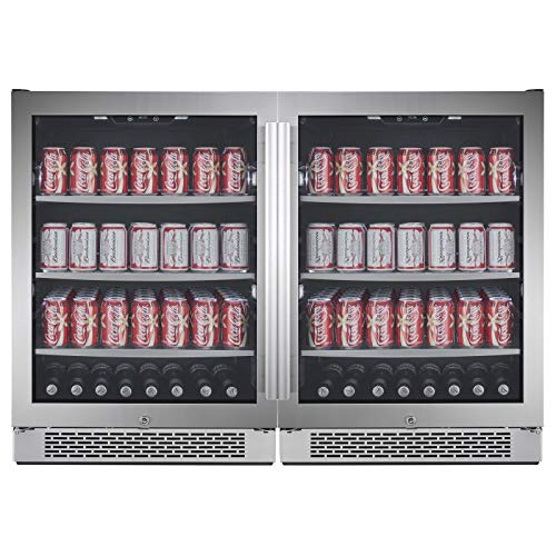 Avallon ABR241SGDUAL 140 Can + 140 Can Built-In ...